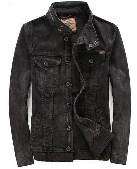 denim motorcycle jacket mens washed vintage motorcycle retro denim jean jacket