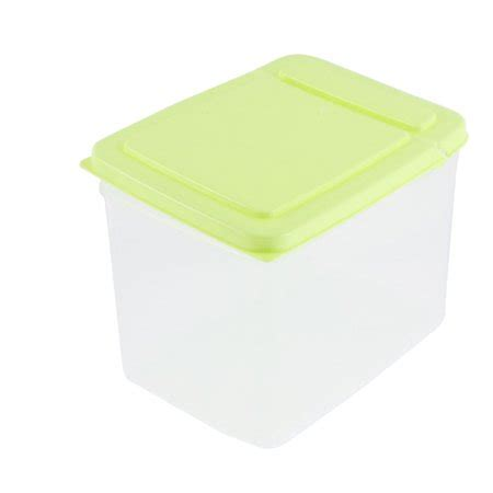 household plastic food storage box container case