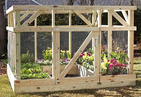 build  garden enclosure