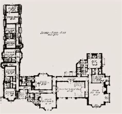 floor plan los angeles 10236 charing cross road los angeles ca 1929 plan