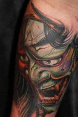 tattoo oriental demonio 25 melhores ideias de hannya significado no pinterest