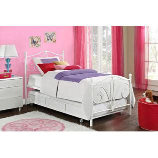 Sears Bunk Beds With Trundle Essential Home Trundle Bed Frame In White