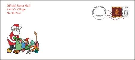 santa envelope template search results for printable envelopes from santa