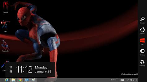 themes for windows 8 1 spiderman the amazing spider man 4 theme for windows 8 ouo themes