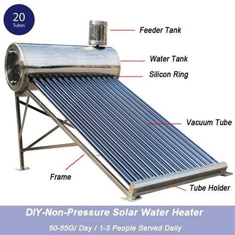 Solar Water Heater Honeywell Swh 200l tubo de vac 237 o solar no presurizado calentador de agua