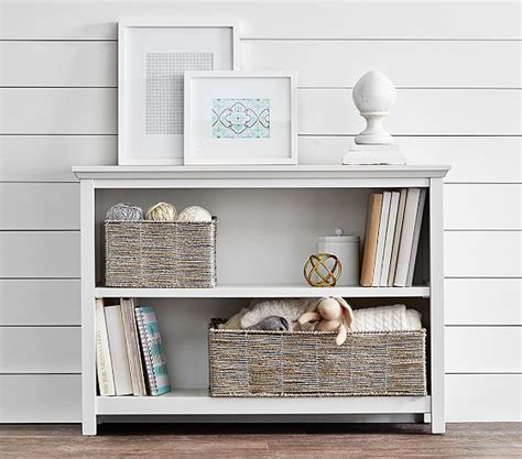 pottery barn bookcase cameron 2 shelf bookcase pottery barn