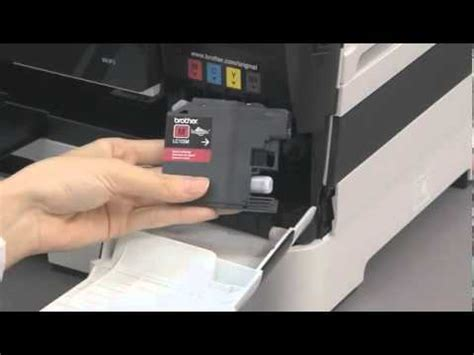 cara reset brother mfc j3520 brother printer mfc j3520 pasang tabung infus doovi