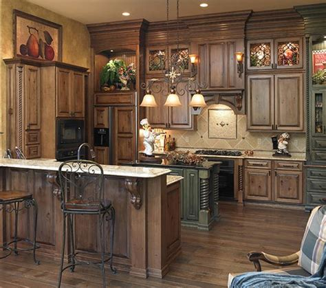 Acorn Kitchen Cabinets Perimeter Cabinets Acorn Rustic Maple W Black Glaze Oxford Door Style Other Sea Green Maple