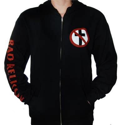 crossbuster zip up hoodie the official bad religion store