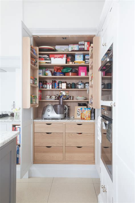 smart storage ideas for small spaces 30 smart storage ideas for small spaces 30 | Transitional Small Pantry Remodel With Present Space