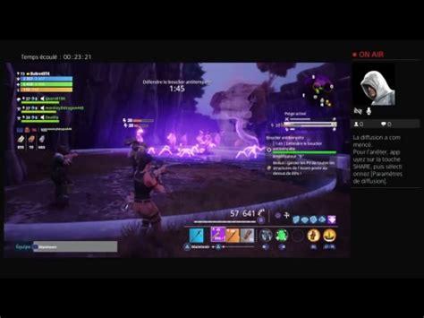 Fortnite PS4 gameplay fr def bouclier multi #3   YouTube