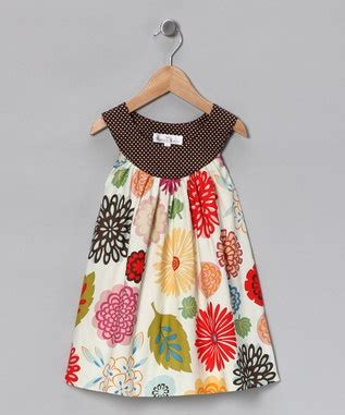 Dress Anak White Print Flower Pinkrsby 1384 white leaf and flower a line dress princess lolly leaves flower and fabrics