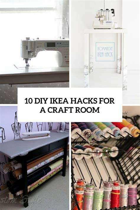 ikea hack craft room craft room ideas archives shelterness