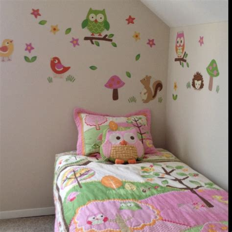 17 Best Images About Girls Bedroom Ideas On Pinterest Owl Decor For Bedroom