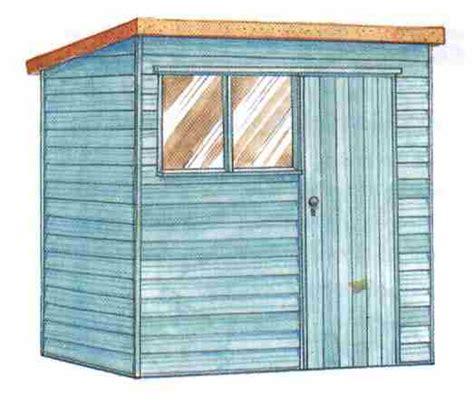 slant roof shed plans   build diy