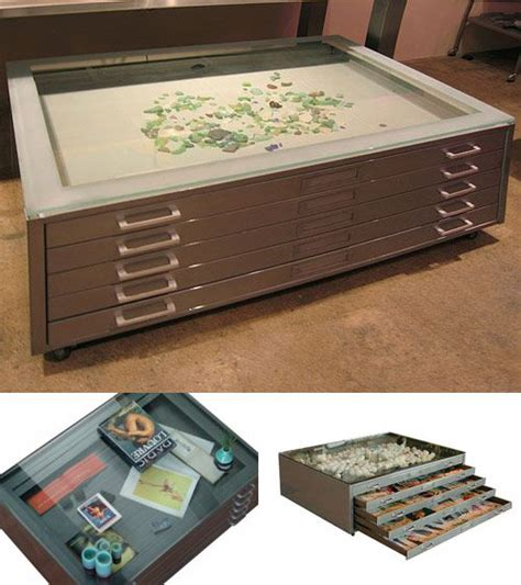 9 best images about map drawer coffee tables on