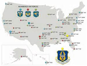 bases map air bases map my