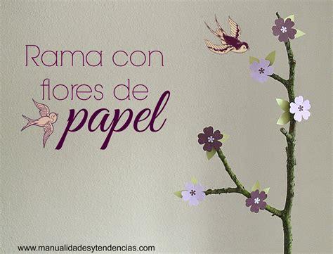 manualidades y tendencias centro de mesa de flores de papel paper flowers centerpiece