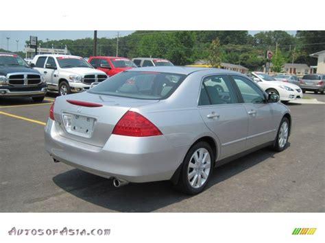 Honda Accord Se by 2007 Honda Accord Se V6 Sedan In Alabaster Silver Metallic