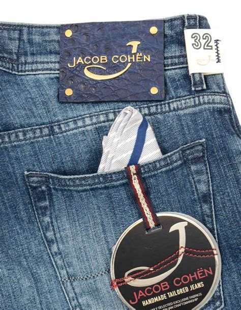 Ask A Denim Edition by Limited Edition 9ct Gold Jacob Cohen The