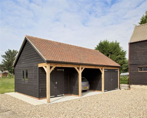 2 bay garage single storey timber two bay garage with workshop