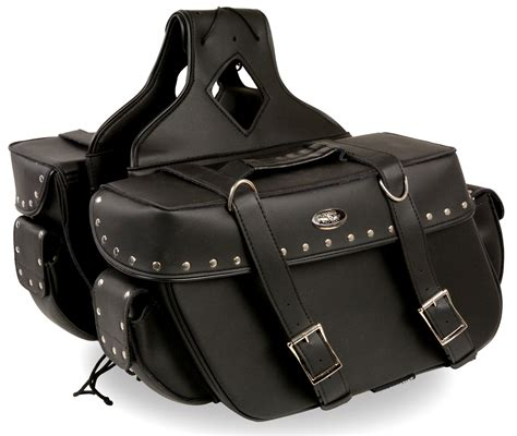 cheap motorcycle leathers motorcycle two piece saddlebag studded bikers gear