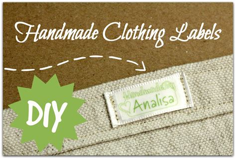 Handmade By Labels - handmade clothing labels parental perspective