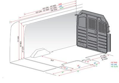 Ford Transit Connect Interior Dimensions by Ford Transit Interior Dimensions