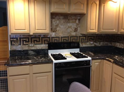 sanded or unsanded grout for backsplash just look at this a beautiful kitchen transformation utilizing handmade mosaic backsplash