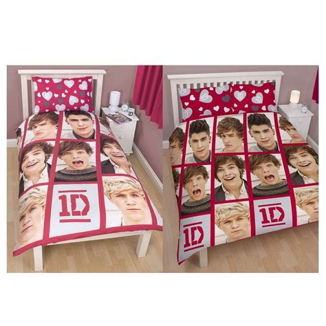 one direction comforter set one direction duvet cover sets single double sizes