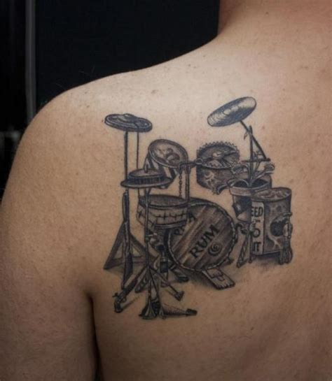 tattoo ali ersari shoulder drum tattoo by ali ersari