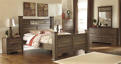 Huey Vineyard B128 4 Pc Twin Sleigh Bedroom Ashley Furniture Signature Design Bedroom Set