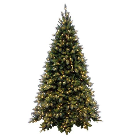 national tree company 9 ft tiffany fir medium hinged
