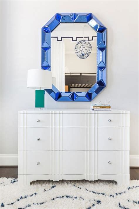 sapphire blue bedroom white bedroom dresser with sapphire blue mirror contemporary bedroom