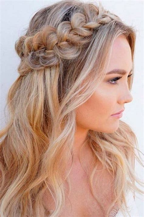 best 25 formal hairstyles ideas on formal hair bridal half up half