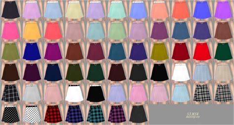 heart belt mini skirt  marigold sims  updates