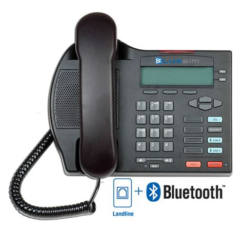 bluesim desktop landline pstn phone bluetooth land line