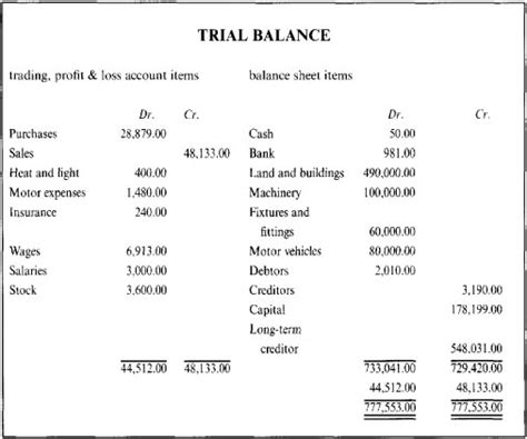 njyloolus balance sheet and income statement examples