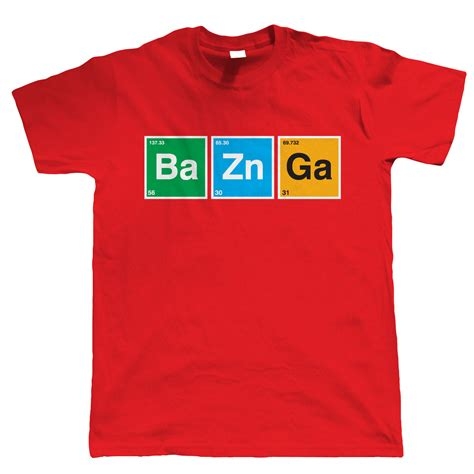 Sweater Hoodie Bazinga Leo Clothing bazinga t shirt mens sci fi periodic table ebay