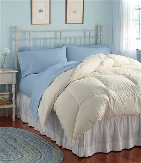 ll bean bedding permabaffle box goose down comforter warm comforters