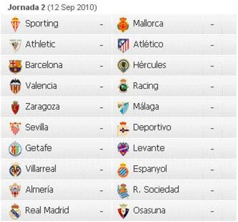 El Calendario Dela Liga Española Acontecer Futbolistico Calendario De La Liga Espa 241 Ola