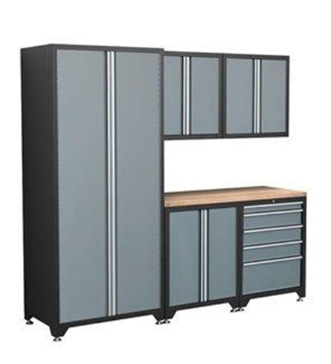 Coleman Storage Cabinets by Coleman 77603 Six Piece Garage Cabinet Storage System By