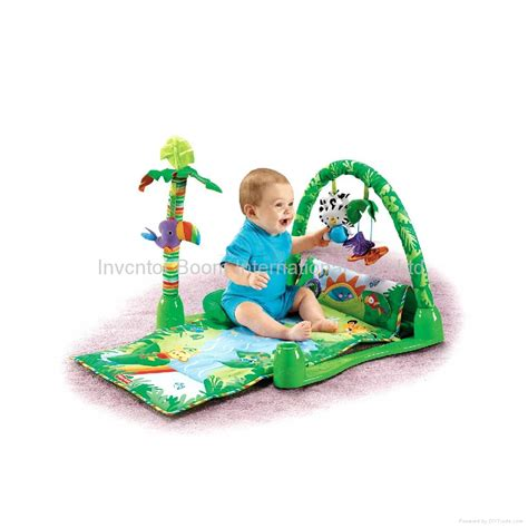 Rainforest Baby Play Mat by Fisher Price Rainforest 1 2 3 Musical Fisher Price