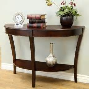 half circle entry table half entry table foter