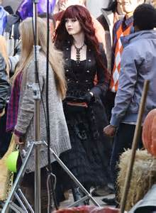 Katherine Mcnamara Filming Quot Monsterville The Cabinet Of