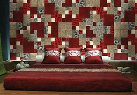 interior design red walls patchwork wall decor ideas 16 striking accent wall designs