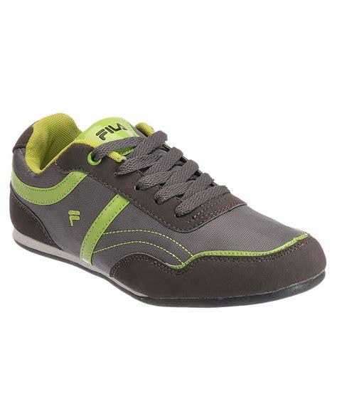 fila green sneakers fila polygon gray and green casual shoes buy fila