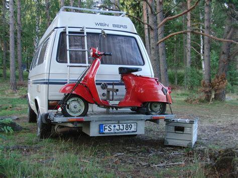 Motorrad Transport Nach Schweden by Vespa Roller Hecktr 228 Ger