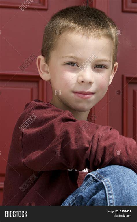 Pendek Boy 5 In 1 blond 6 year boy image photo bigstock