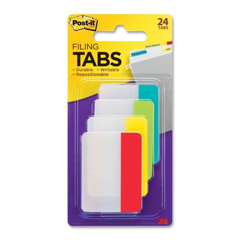 Cal 95 Per Isi 6 Tab post it durable file tab ld products